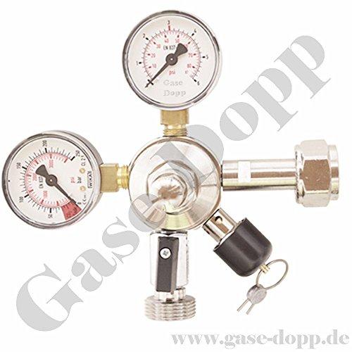 Druckminderer 1 leitig - 3 bar Zapfanlagen Flaschendruckregler Druckminderer von Gase Dopp