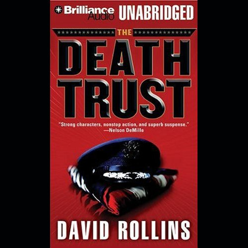 The Death Trust audiobook cover art