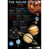 Chart Media Poster The Solar System/Sonnensystem, für