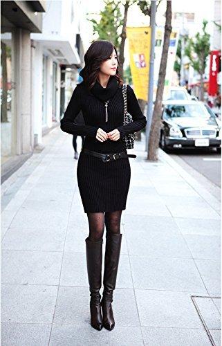 『プールヴー パーティードレス ワンピース ドレス お呼ばれ 女子会 レディース ブラック フリーサイズ』の3枚目の画像