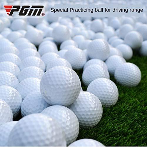 Großhandels10pcs PGM Double Layer Golfbälle Golf Swing Putting Trainingsball Weißer Standard Blank Golfball Anpassbare Logo