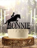 Decoración personalizada para tarta con diseño de caballo