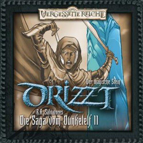 Der magische Stein (DRIZZT - Die Saga vom Dunkelelf 11) Titelbild
