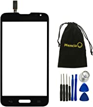 Mencia Touch Screen Glass For Version LG Optimus L70 D320 D321 D325 MS323 Single SIM With Tools Black Color without LCD