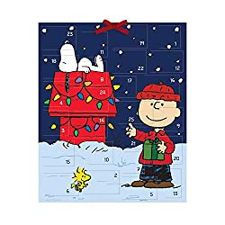 The family will enjoy seeing what the Peanuts gang is up to this time as they work their way through each of the windows on this Christmas Advent calendar.