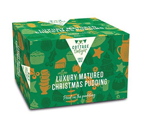 Cottage Delight - Luxury Matured Christmas Pudding - 1 x 400 gramos