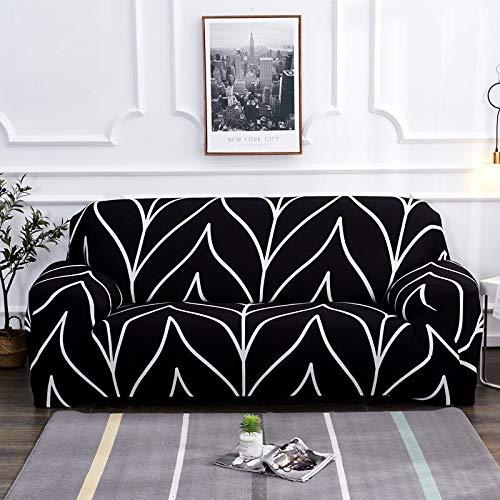 WXQY Wohnzimmer elastische Sofa Schutzhülle rutschfeste L-förmige Ecksofa Schutzhülle Haustierschutz Sofabezug A19 1-Sitzer
