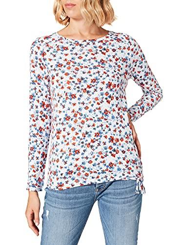 Cecil Damen 316959 T-Shirt, Pure Off White, S