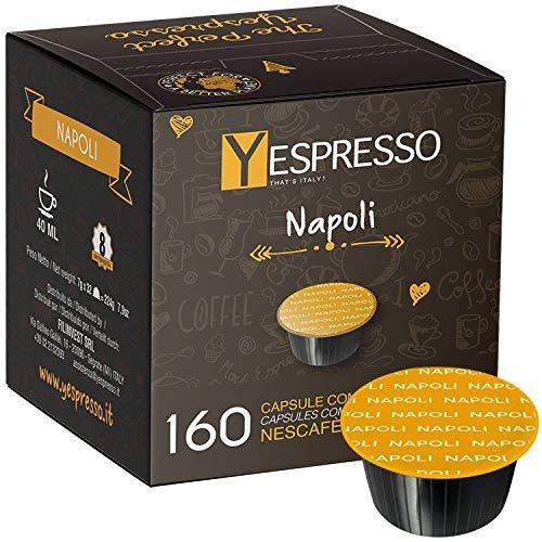 160 capsule compatibili Nescafè Dolce gusto NAPOLI - 10 confezione da 16 capsule