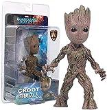 HS Guardianes de la Galaxia Baby Groot Figura niños Regalo Juguetes Groot Figuras de...