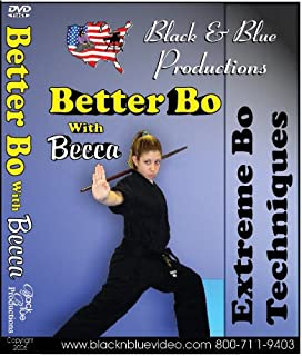 Better Bo Staff Forms with Becca Ross Extreme Techniques #1 DVD martial arts