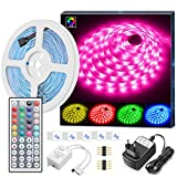 5m LED Strip, MINGER RGB LED Streifen Kit mit...