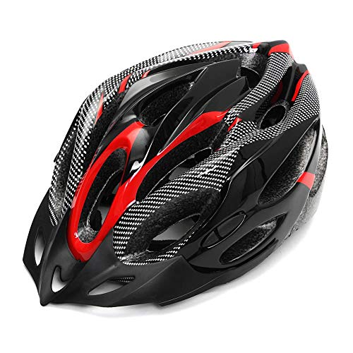 Ferrell Safety Adjustable Bicycle Bike Adult Helmet Carbon Fibre Cycling Road Mountain Ridding Accessories