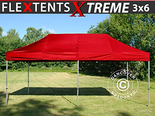 Dancover Vouwtent/Easy up tent FleXtents Xtreme 50 3x6m Rood