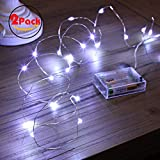 🌹Corda a 50 led super luminosa: questa stringa a 50 led è la migliore corda alimentata a batteria, ideale per qualsiasi progetto decorativo. Lo squisito filo di rame ospita 50 lampadine a led molto piccole, che hanno circa le stesse dimensioni delle ...