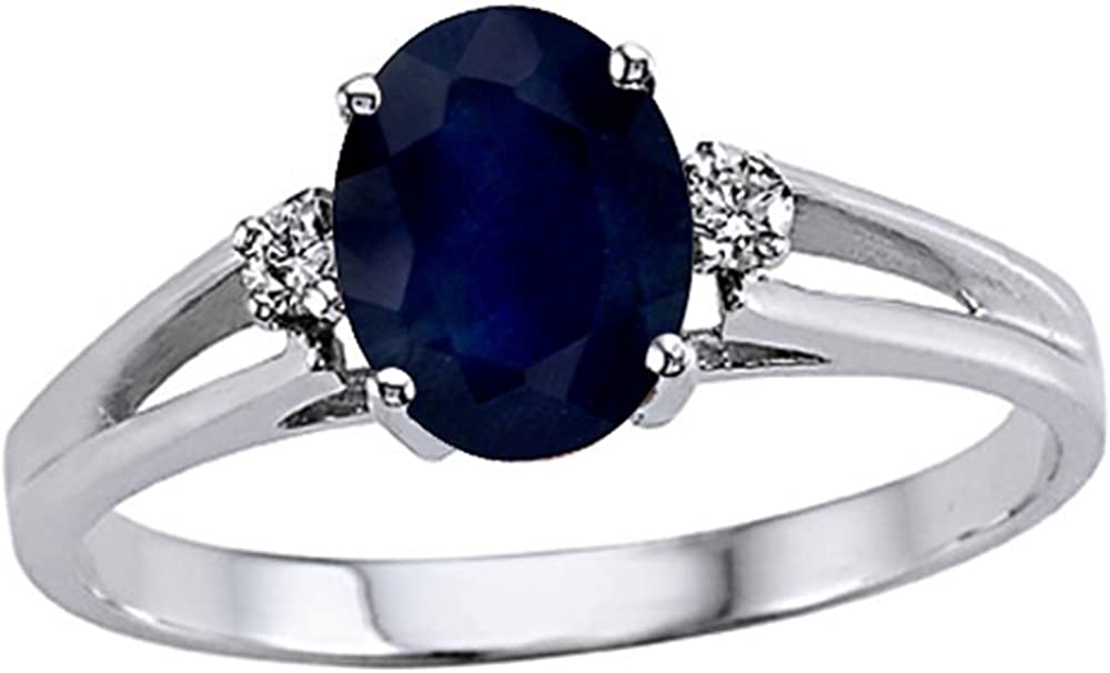 Tommaso New Shipping Free Shipping Design Solid Columbus Mall 14k White Gold Oval 3 Classic Engagem stone