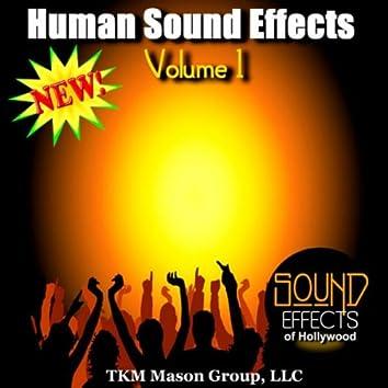 Human Sound Effects - Volume 1
