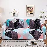 WXQY Funda elástica para sofá Todo Incluido Conjunto de sofás esquineros en Forma de L (se requieren Dos Piezas) Funda Antideslizante para sofá Todo Incluido A5 2 plazas