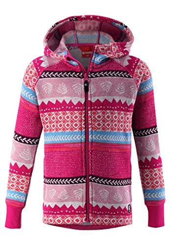 Reima Northern Soft & Comfortable Fleece Sweater Outerwear 5364614656152, Raspberry Pink, 12Y