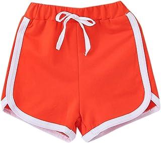 Moneycom (1Y-6Y Verano Niños Niño Niña Colores Caramelos Casual Pantalones Cortos Cintura Elástica Pantalones Ropa Mezcla ...