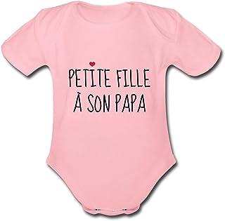 Gilet bébé personnalisé body nommé aime son papa cadeau joli bébé fête des pères