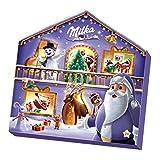 Milka – Calendrier de l'Avent Magic Mix – 24 Surprises Chocolatées – Boîte de 147 g
