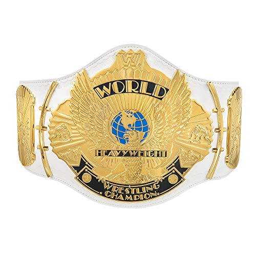 WWE Authentic Wear White Winged Eagle Championship Replica Title Belt