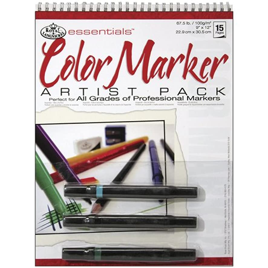 Royal & Langnickel Marker Artist Pack, 9-Inch by 12-Inch