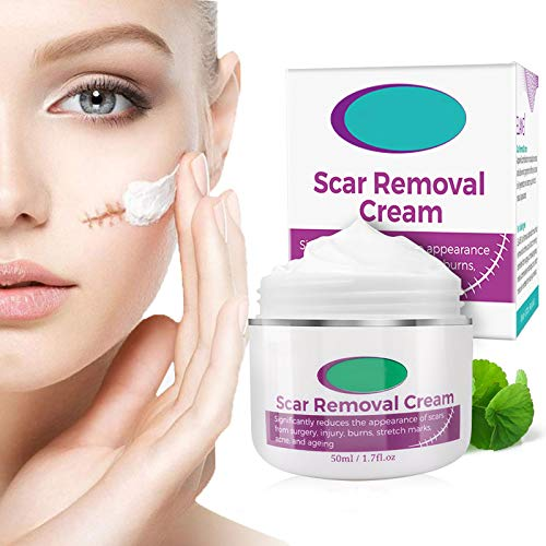 Scar Cream,Xshows Scar Removal Cream Advanced Treatment for Old & New Scar on the Face Body from Cut Stretch Marks Suitable for Women Men with Vitamin E
