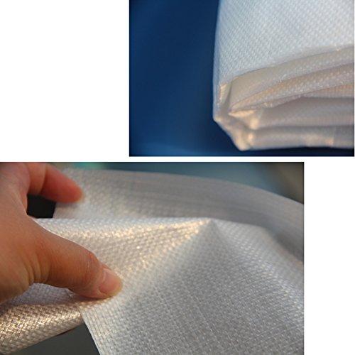LIANGJUN Bâche De Protection Tissu en Plastique Ombre Étanche À La Poussière Coupe-Vent Plante De Plein Air Un Camion, 200g / M² (Taille : 6X8m)