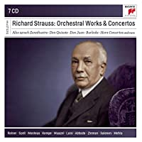 Richard Strauss: Orchestral Works and Concertos (Sony Classical Masters)