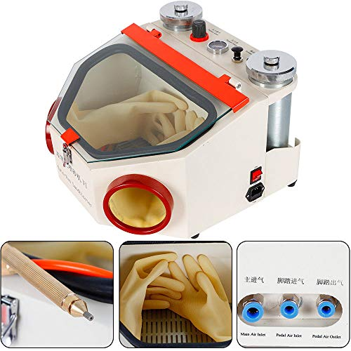 Learn More About Double Pen Blasting Sandblaster Porcelain Crown Surface Polishing Machine