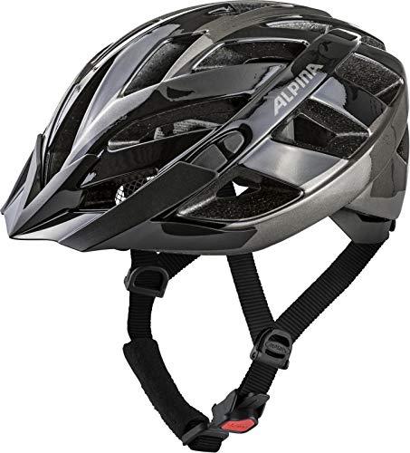 Alpina Erwachsene Panoma 2.0 Fahrradhelm, Black-Anthracite, 56-59 cm