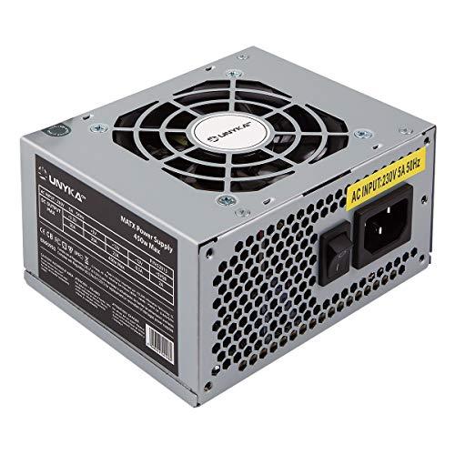 UNYKAch SFX 450W Unidad de - Fuente de alimentación (450 W, 230 V, 50/60 Hz, 20 A, 23 A, 20 A)