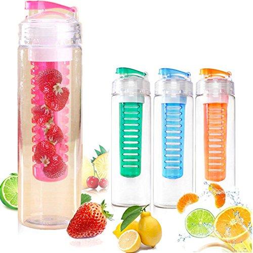Bazaar 760ml Sport wimports-Ei Wasser Zitronensaft Flasche BPA-frei Filter