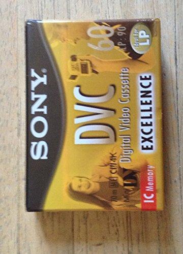 Sony Mini DV with IC Chip 60 min - Cinta de audio/video (60 min)