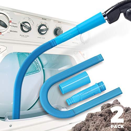 Holikme Dryer Vent Vacuum Attachmen Dryer Vent Cleaner Kit Vacuumuum Hose Attachment Brush Lint Remover 2 PCS