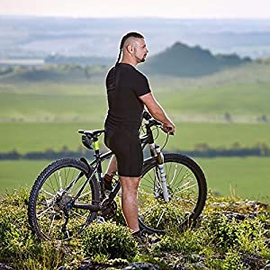 Comius Sharp Bolsa para Sillín de Bicicleta Bolsa para Bicicleta de Montaña Bolsa para Bicicleta Trasera Resistente al Agua Paquete de Cuña Impermeable para Bicicletas de Montaña de Carrera