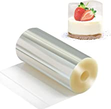 Cake Collars 4 x 394inch, Picowe Acetate Rolls, Clear Cake Strips, Transparent Cake Rolls, Mousse Cake Acetate Sheets for ...