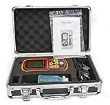 DecentGadget Ultrasonic Thickness Meter Tester Gauge Velocity 1.2~225mm Metal Wave...