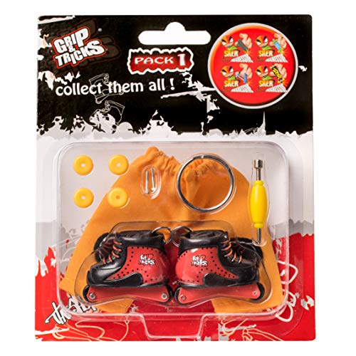 Grip & Tricks - Finger Roller - Mini Inline Skates Freestyle Pack1