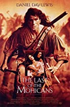 LAST OF THE MOHICANS (1992) Original Authentic Movie Poster 27x40 - Single-Sided - Daniel Day-Lewis - Madeleine Stowe - Russell Means - Eric Schweig