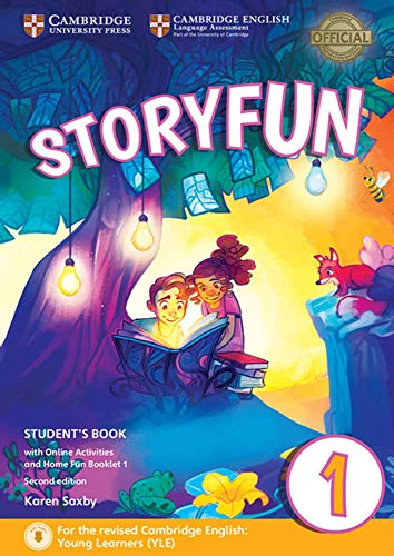 Storyfun for Starters, Movers and Flyers 1. Student's Book with online activities and Home Fun Booklet. 2nd Edition