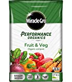 MIRACLE GRO Performance Organics Fruit & Veg Compost 40L (Bee, Child & Pet Friendly)