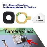 Cemobile Recambio para Cubre Lente de la Cámara Trasera con Adhesivo para Samsung Galaxy S8 / S8 Plus