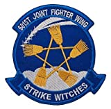 Strike Witches 501st Joint Fighter Wing Military Hook Loop Tactics Morale Embroidered Patch