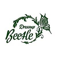 バタフライサークル Beetle ビートル カッティング ステッカー ダークグリーン 深緑