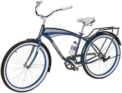 Benotto City OCEAN MRHOCE2601UNAZ Bicicleta de Acero Rodada R26, Hombre, 1 Velocidad
