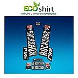 Ecoshirt MR-T1DE-2WPA Pegatinas Stickers Horquilla Rock Shox Pike 2018 Am129 Fork Aufkleber Decals MTB