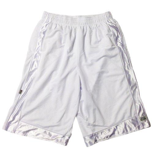 Pro Club Heavyweight Mesh Basketball Shorts White Large